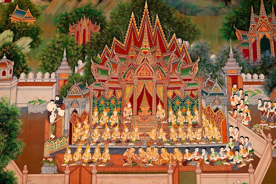 budhisticky nábožensky rituál