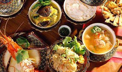 Prísady thajskej centralnej kychyne