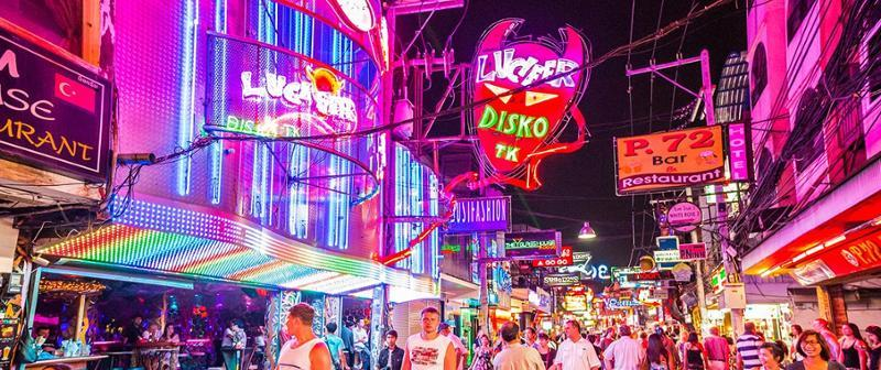 Nočný život v Pattaya