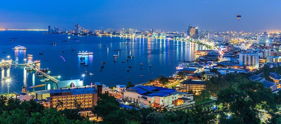 Pattaya vecerna plaz