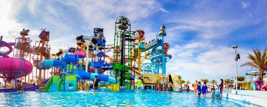 Vodny park Pattaya Thajsko