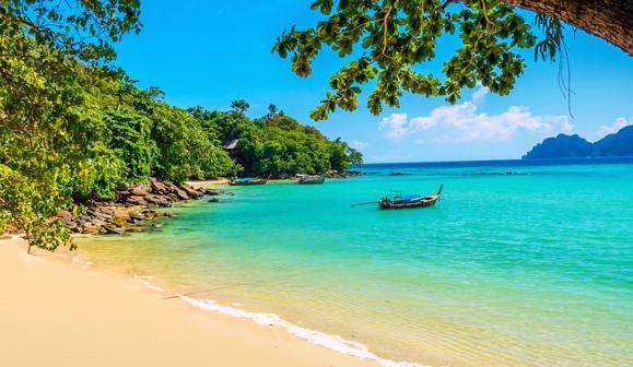 Phi Phi plaz v Thajsku