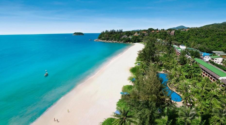pláž ostrov phuket