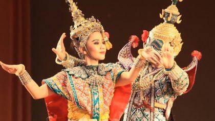 Thajske divadlo neodmysliteľne patrí ku kultúrnemu dedičstvu Thajska