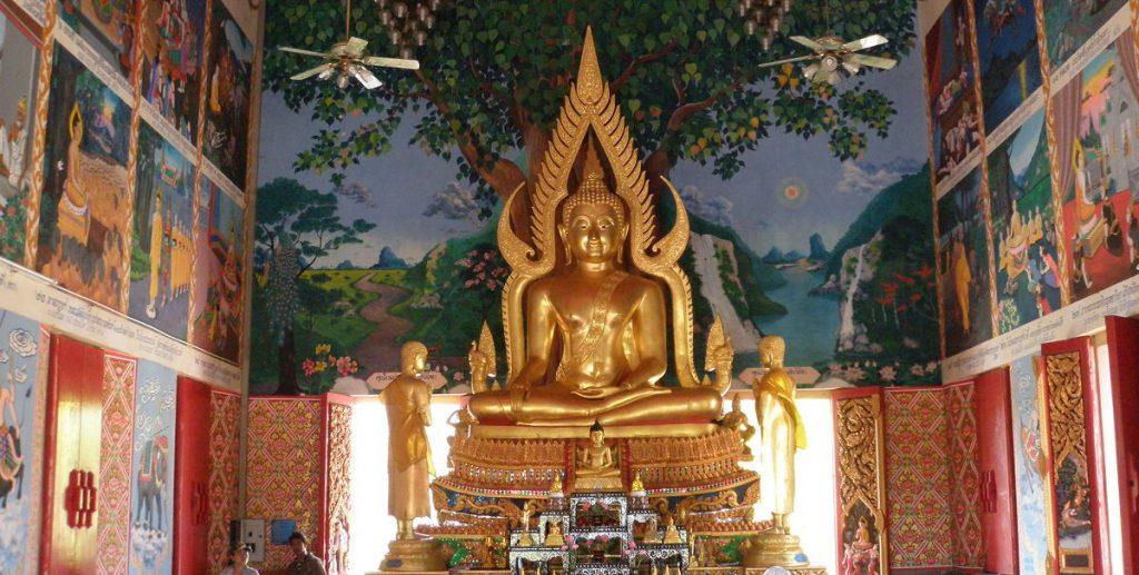 Thajska socha božstva