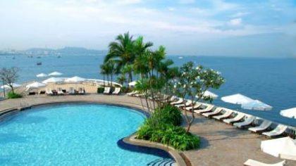 Výhľad na Pattaya v Thajsku