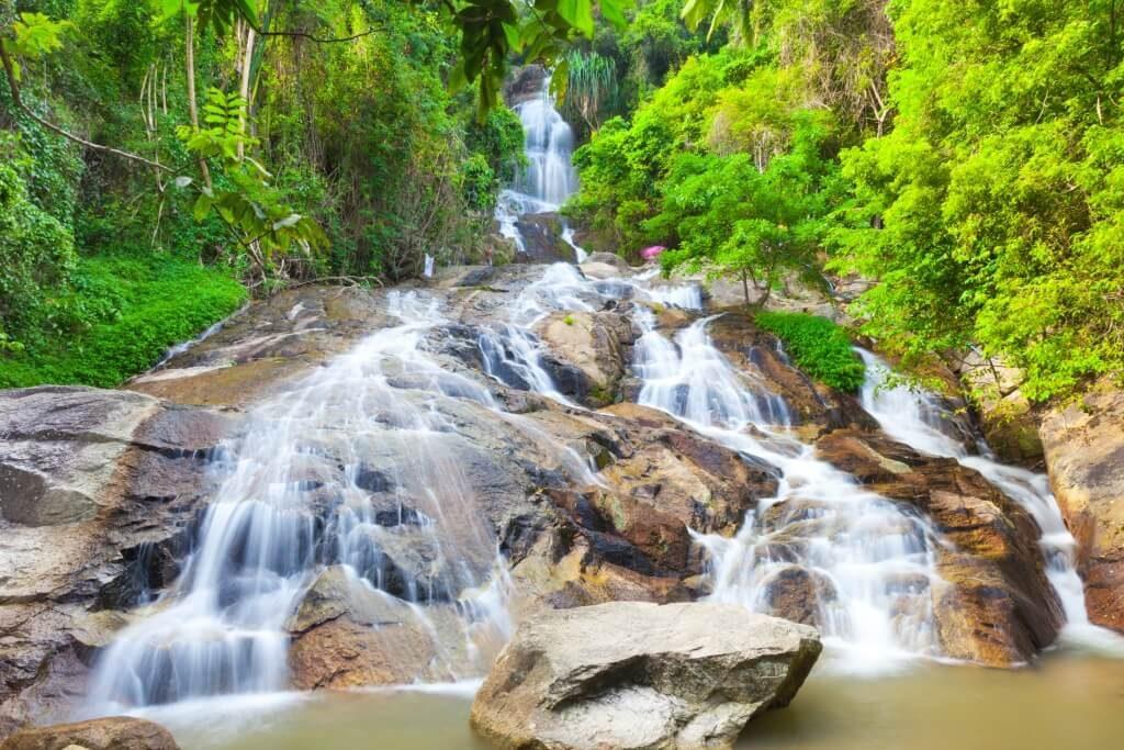 vodopady koh samui